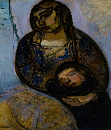 Gino-Rossi_Maternità-(1913)_Olio-su-cartone_Archivio-Fotografico-Fondazione-Musei-Civici-di-Venezia_web
